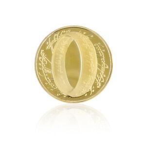 New Zealand Souvenir Coin Elizabeth II 24k Gold Plated Commemorative Coin