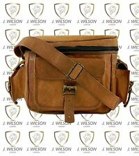 Vintage Leather Handmade DSLR Digital Camera Bag Designer J Wilson Cross Body