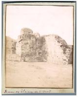 Algérie, Cherchell, Ruines des Thermes de l'Ouest de Cherchell  Vintage cit