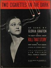1934 TWO CIGARETTES IN THE DARK Webster & Pollack KILL THAT STORY Gloria Grafton