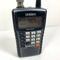 Uniden BC125AT Handheld Police Scanner Portable NASCAR Racing Fire EMS VHF UHF