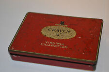 Collectable Cigarette Advertising Tins