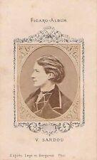 -Photographie Ancienne Figaro-Album Portrait de Victorien Sardou