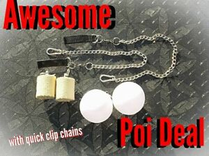 Awesome Deal Fire and LED POI package with quick links