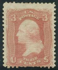"US Sc# 94 *UNUSED H* { 3c WASHINGTON ""F"" GRILL } FROM 1867 SERIES CV$ 150.00"