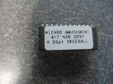 Main Eprom Chip (Brain) For Model #H Skee Ball Skeeball 100 Hole Game
