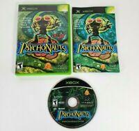 EXCELLENT COMPLETE - PsychoNauts - Microsoft Original Xbox 2005