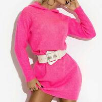 BY ALINA Mexton Damenpulli Pullover Strickpulli Longshirt Bluse Tunika  #D174