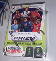🚨Panini Prizm Premier League Soccer 2020-21 Blaster Box Red Mosaic  IN HAND🚨
