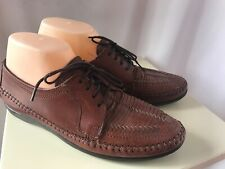 Vintage Women's Dexter Classic Comfort Brown Loafers Shoes 9.5M Made In USA