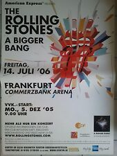 Rolling Stones 2006 Orig. Concert-Poster 118 x 168 cm Géant Poster NEUF