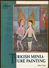 TURKISH MINIATURE PAINTING by Emel Esin - 1960 1st Edition - VG+