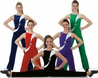 All Star Dance Costume ROYAL Leotard Tap Unitard Catsuit Clearance AL and AXL