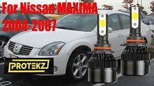 LED MAXIMA 2004-2007 Headlight Kit 9012 HIR2 6000K White CREE Bulbs Hi/Low Beam