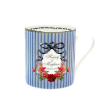 Prince Harry & Meghan Markle Royal Wedding : Halcyon Days Wedding Ribbons Mug