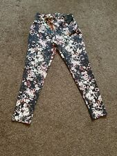 BNWOT Ladies Womens Warehouse Floral Print Summer Trousers Size 10