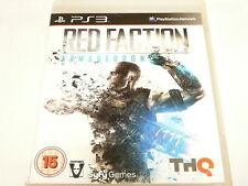 """RED FACTION """"ARMAGEDDON"""" R4 PS3 """"preowned"""""""