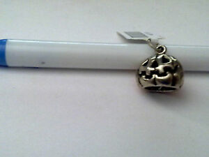 Sterling Silver Jack O Lantern Charm New RRP $49