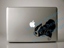 """Molly the Boston Terrier Decal for 13"""" Macbook"""