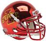 IOWA STATE CYCLONES NCAA Schutt XP Authentic MINI Football Helmet (CHROME)