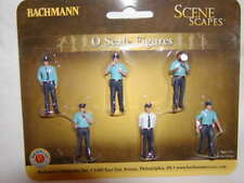 Bachmann Scene Scapes 33154 Police Squad Figure Pack MIB O 027 6 figures New