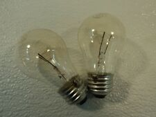 Philips 15 Watt Incandescent Light Bulb 2 Pack Clear Appliance 15A15/CL
