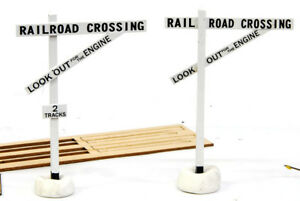 HO SCALE BANTA MODEL WORKS #2032 Old Style Crossing Signs
