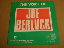 45T SINGLE / THE VOICE OF JOE BERLUCK - LOVE LETTER FOR YOU