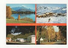 Queenstown District Postcard New Zealand 556a