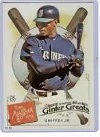 Ken Griffey Jr 2019 Allen and Ginter Ginter Greats 5x7 #GG-12 /49 Mariners