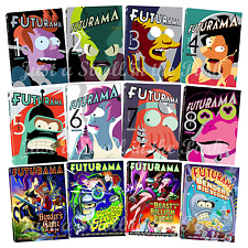 Futurama: Animated TV Series Complete Volumes 1-8 + Movies Box / DVD Sets(s) NEW