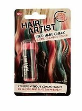 Red Hair Chalk Dye Temporariliy Color Washes Out (set of 2 )