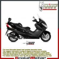 Scarico Completo MIVV Urban Acciaio inox per Suzuki Burgman 400 2005 05