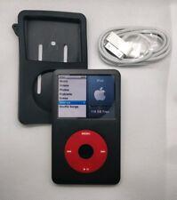 iPod Classic 128GB SDXC - 6th gen, black/red (full refurb, new battery + extras)