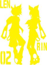 Vocaloid Hatsune Kagamine Rin Len character decal
