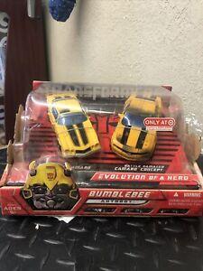 Hasbro Transformers Classic Camaro & Battle Damage Bumblebee Autobot Combo Set