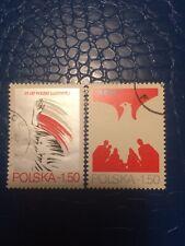Poland Stamps 1979 Used National Philatelic Exhibition In Katowice