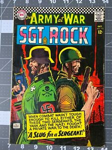 DC Comics Our Army At War #172 Sgt Rock FN 1966 Silver Age