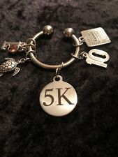 Way to go! Celebrate a 5K Finish! 5K Weight Loss Charm for Weight Watchers Ring