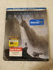 Oblivion METALPAK (Like SteelBook) Blu Ray Walmart Limited Ed SOLD OUT SEALED