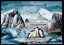 Kaiser-Pinguine. Schutz Polargebiete und Gletscher. Block.Tschechien 2009