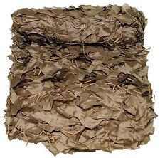Tarnnetz 3x2m Coyote Tan Im praktischen PVC Beutel
