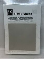 Mitsubishi PMC Sheet Precious Metal Clay Silver Art Clay 5g, 6cm x 6cm Square