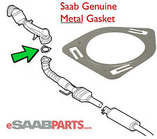 NEW Saab 9-3 XWD Metal Exhaust Gasket (Catalytic Converter to Mid Pipe) 12757508