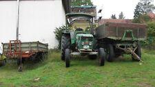 Deutz (70 PS) Traktor/Schlepper mit Fahrzeugbrief sowie zwei Anhänger