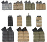 Pouch Magazine Molle Mag Tactical Holder Pistol Carrier Rifle Triple Double Sing