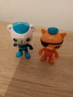 Octonauts Figures- Captain Barnacles And Kwazii Posable