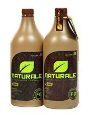 NATURALE 100% ORGANIC BRAZILIAN KERATIN TREATMENT BLOW DRY 2 x 1 LITER INOAR OIL