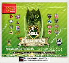 2007 Select NRL Champions Trading Cards Factory Box (36 packs)-Rare