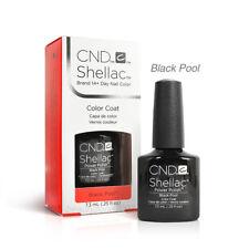CND Shellac UV Gel Nail Polish - Black Pool 0.25oz